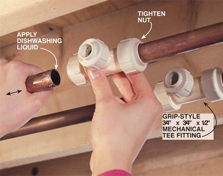 How To Use Cpvc Plastic Plumbing Pipe The Family Handyman