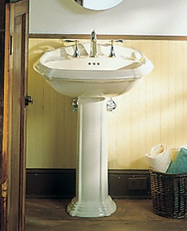 How To Plumb A Pedestal Sink The Family Handyman