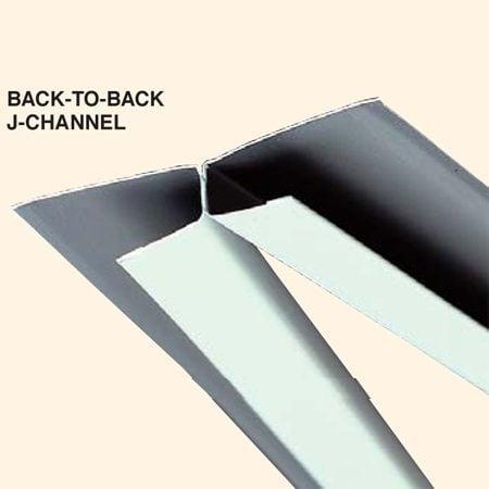 Back-to-back J-channel