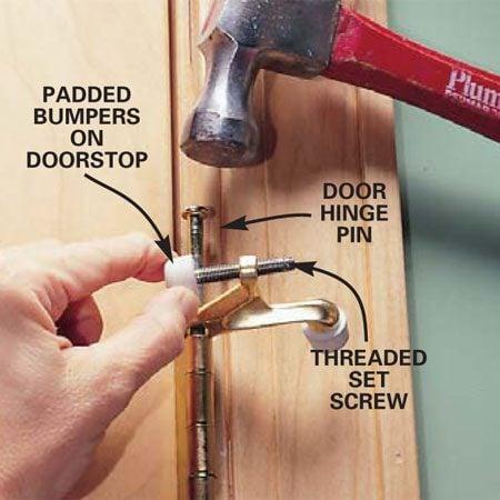 How To Install Doorstops The Family Handyman