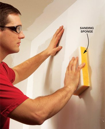 <b>Wet-sand joints to limit dust</b></br> <p>To limit the dust,  consider wet-sanding the joints.   Tape with care so you  don't have to do much sanding.    Then buy a big flat  drywall sponge ($2 at home centers),   wet and wring it out,  and simply wipe smooth any minor flaws.   You probably won't have  to use the coarse side of the sponge   unless you have  unusually rough areas. </p>