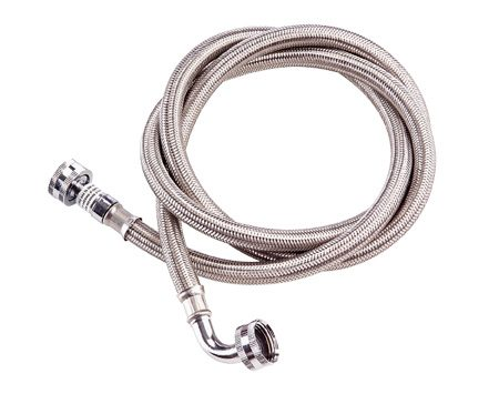 <b>High quality hoses are less likely to leak</b></br> If your current hoses are more than five years old, replace them with no-burst hoses. The supply hoses to your clothes washer are always under pressure, just like the supply pipes in your water system. However, eventually the rubber will harden, crack and leak. If undetected, the leak can cause extensive water damage. An inexpensive solution is to buy no-burst hoses. These high-quality hoses are less likely to leak and they'll keep any leak from becoming a torrent. They cost less than $20 a pair at home centers, hardware stores and appliance stores.