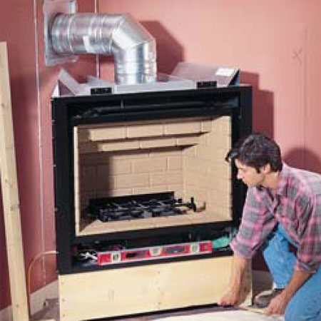 <b>Proper venting</b></br> Proper ventilation is essential for a safe-operating fireplace.