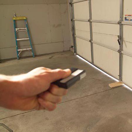 Garage Door Tune Up The Family Handyman