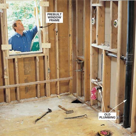 How To Remodel A Small Bathroom The Family Handyman