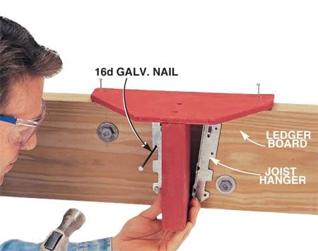 Build this jig to ensure the correct joist height.