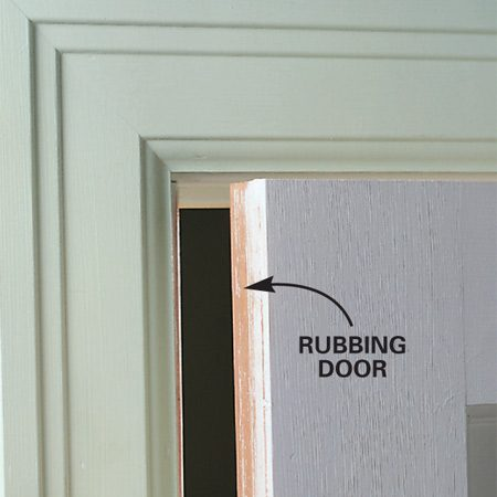 <b>Occasional binding</b></br> The whole door is binding along the edge, but only when the weather is humid.