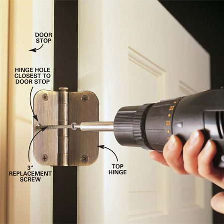 How To Repair Interior Doors The Family Handyman