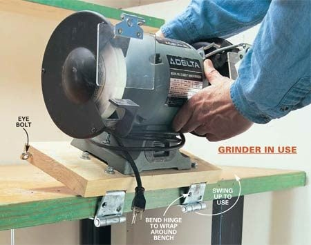<b>The grinder is in use</b></br>
