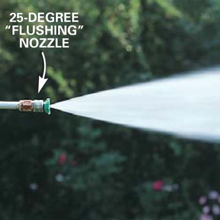 25-degree nozzle