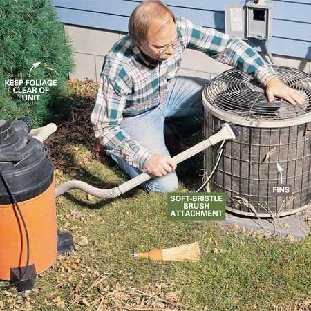 Cleaning Air Conditioners in the Spring | The Family Handyman