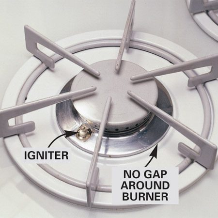 <b>Sealed burner range</b></br> The top does not lift on a sealer burner range. It doesn't have a pilot and you access the igniter from the top.