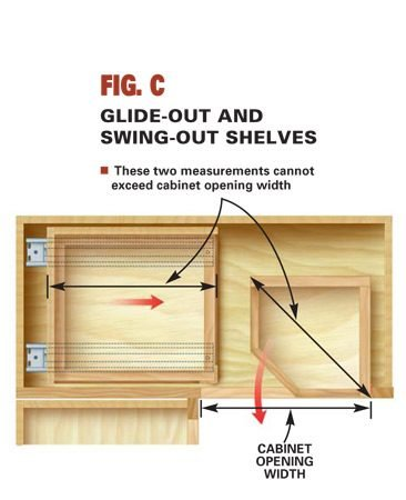 Glide-out shelf