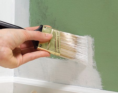 <b>Apply it and cover with latex or oil paint</b></br> Just brush or roll the sealer over the problem spot, let it dry for an hour, then paint over it with either latex or oil paint.