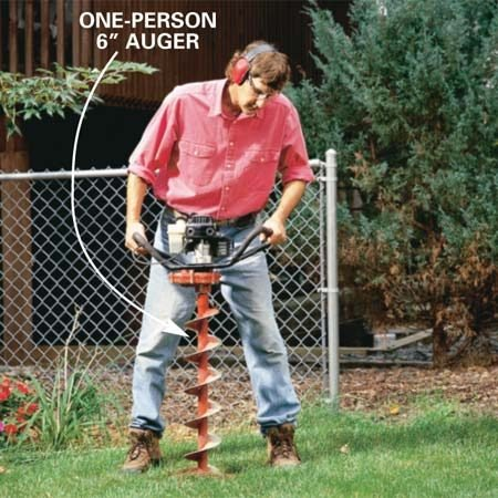 One-person auger