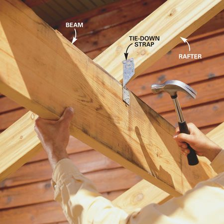 How To Build An Outdoor Living Room The Family Handyman