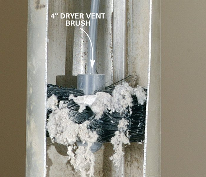 Remove Dryer Lint The Family Handyman