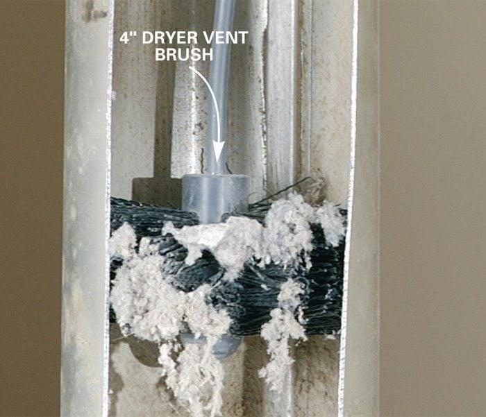 Remove Dryer Lint | The Family Handyman