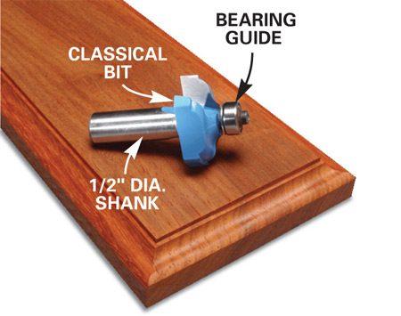 <b>Clean-cut end-grain</b></br> The results show no tear-out when routing the end-grain.