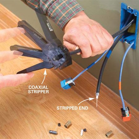 Installing Communication Wiring | The Family Handyman