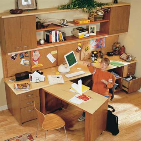 <b>Finished</b></br> A hard-working desk