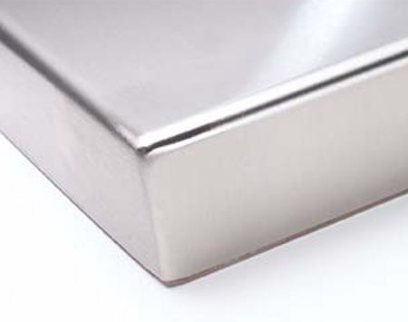 <b>Stainless steel</b></br> Stainless steel is the easy to keep clean.