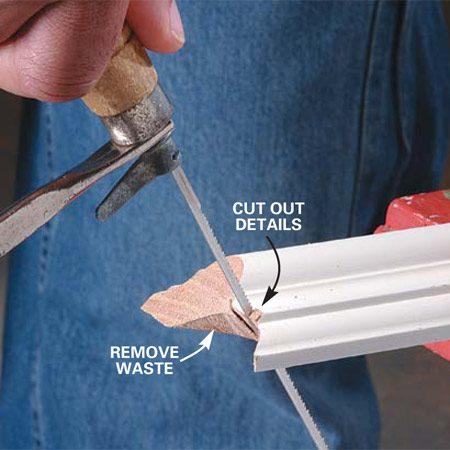How To Cope Joints The Family Handyman