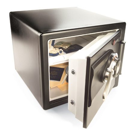 <b>A safe holds valuable papers and jewelry</b></br> <p>Most of us don't need a big, heavy, expensive safe to secure our valuables. For a few hundred dollars or less, you can get a safe that will protect against thieves. Be sure to fasten it to the floor or wall so an intruder doesn't walk off with it. Safes go up in price for options such as fire protection and digital or biometric (fingerprint reading) opening systems.</p>