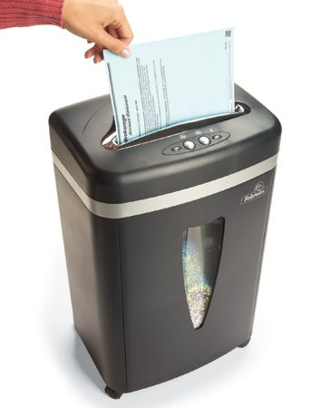 Shredding papers with confidential information is another important aspect of home security.