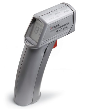 <b>Check for hot and cold spots</b><br/><strong>Infrared thermometers</strong> ($30 to $100 from online tool suppliers) use an infrared beam to measure the temperature on any surface, letting you locate hot or cold spots in the walls where condensation may be occurring because of missing insulation.