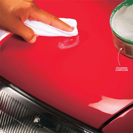 How To Repair Chipped Car Paint The Family Handyman