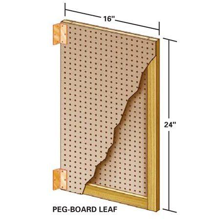 Peg-board details