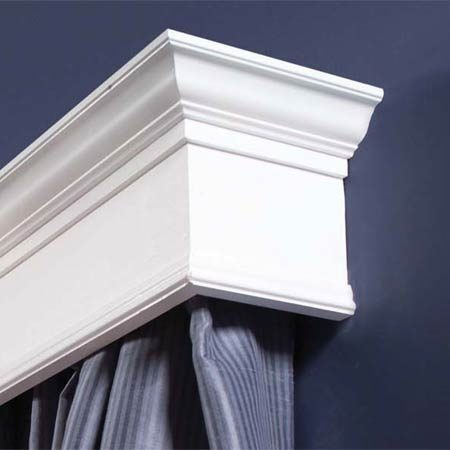 <b>Finished cornice close-up</b></br>