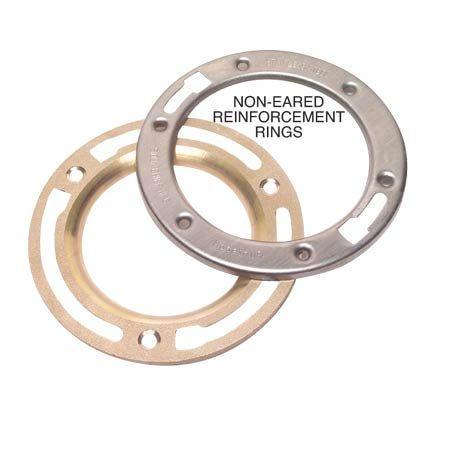 Non-eared reinforcement rings
