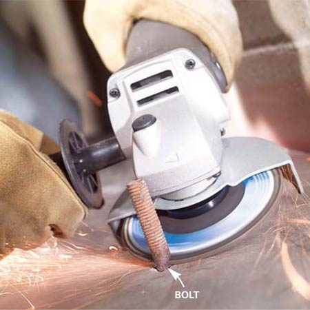 How To Use An Angle Grinder The Family Handyman