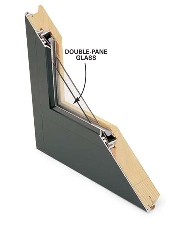 <b>Energy efficiency</b></br> Double-pane glass eliminates the need for storm windows and is standard in most new windows. Two low-cost extras, a low-E film and argon gas between the panes, are worth the slightly higher price for both comfort and energy efficiency.