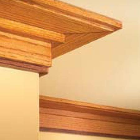Craftsman Crown Molding : How to Install Craftsman Trim  The Family Handyman