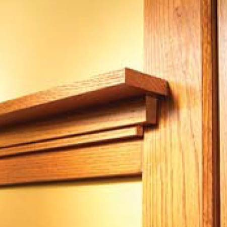 How to install craftsman trim the family handyman for Craftsman picture rail
