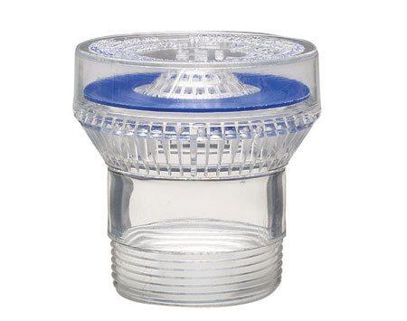 <b>Close-up of an air admittance valve</b></br> An air admittance valve equalizes air pressure in the drain system.