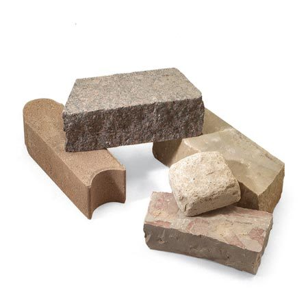 <b>Stacking stone</b></br> You can choose from a variety of attractive stone for your border.