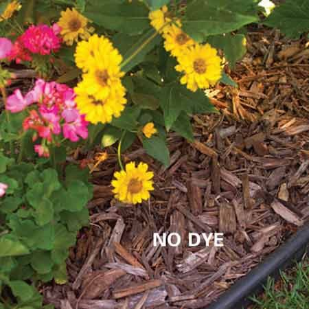 <b>No dye</b></br> Mulch without dye
