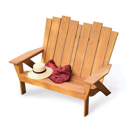<b>Matching love seat</b></br> Assemble the love seat exactly like the chair, using the Cutting list in the Additional Information below for the parts.