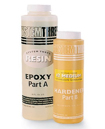 <b>Epoxy</b></br> Use it when you need to fill gaps and for great strength. Comes in two parts that must be mixed just before using. Epoxy will glue most materials, and it's waterproof. Won't wash off your skin—or anything else.