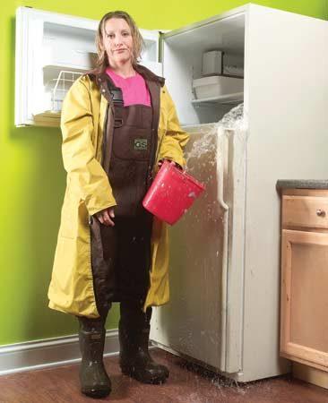<b>A leaky refrigerator</b></br>