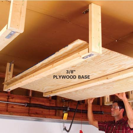 Easy Garage Storage Solutions | The Family Handyman