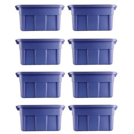 <b>One shelf holds all this!</b></br> Each shelf holds eight containers 16 in. wide x 24 in. long x 12-1/2 in. high.