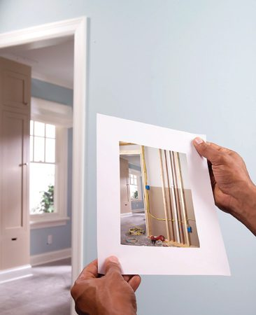 <b>Take a picture before closing up walls</b></br> Your walls may not have much inner beauty, but it's a good idea to take pictures of what's inside during remodeling. The same goes for floors and ceilings. When your next remodeling or repair project rolls around, you'll know where the framing and the electrical and plumbing lines are.