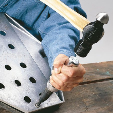 <b>Try an impact driver</b></br> A hand impact driver works with a bladed or Phillips-head screwdriver bit, or a socket head. Striking the tool does three things at once: The blow loosens the thread bond; the downward force keeps the tool in the slot; and the head of the tool turns 20 degrees in the loosening direction. Make sure the screw slot is clean and free of debris. Find an impact driver at home centers or through  our affiliation with <a href='http://www.amazon.com/gp/product/B0002NYDRG/ref=as_li_ss_tl?ie=UTF8&tag=familhandy-20&linkCode=as2&camp=1789&creative=390957&creativeASIN=B0002NYDRG'>amazon.com</a> for $25.