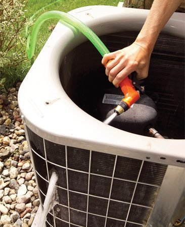 Clean Your Air Conditioner Condenser Unit The Family