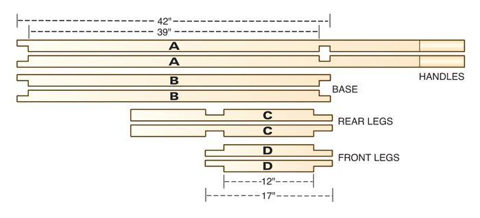 Figure C: Half-lap joints
